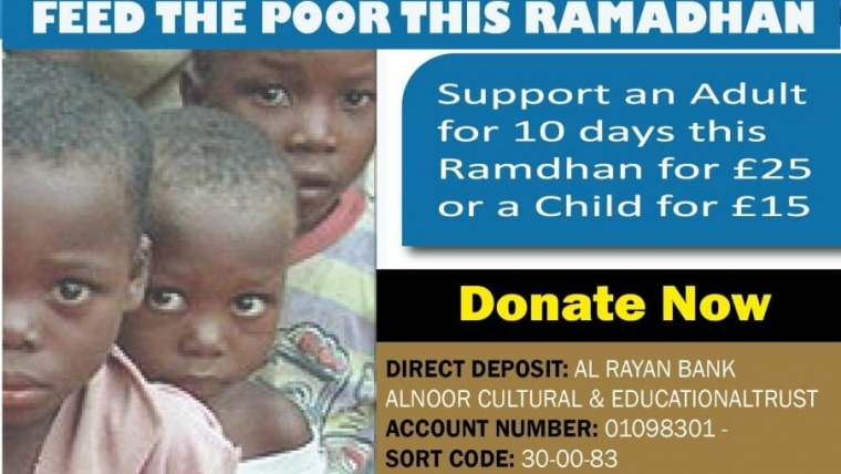 Feed The Poor During Ramadhan